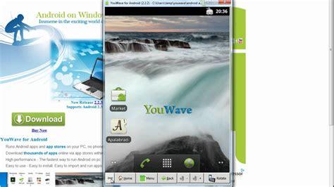 tutorial menggunakan youwave android tutorial youwave emulador de android pc youtube