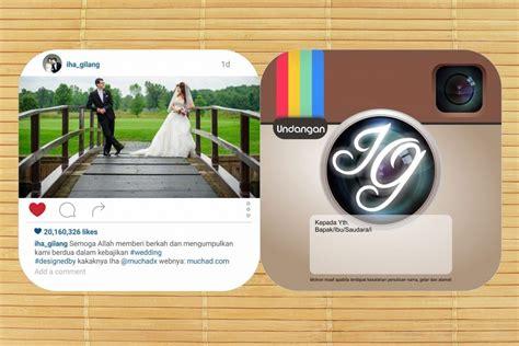 Desain Undangan Instagram | muchad reborn muchad