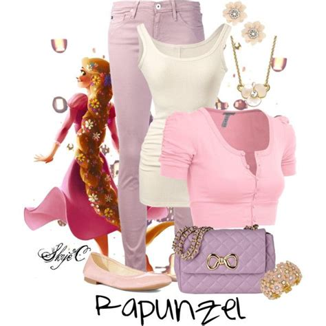 Sweater Disnep Tangled quot rapunzel disney s tangled quot by rubytyra on polyvore disneybound disney