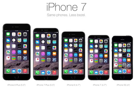 7 iphone size iphone iphone 7 size