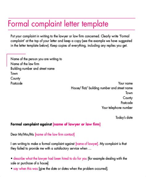 Electricity Complaint Letter In 100 Complaint Letter Brilliant Ideas Of Sle Formal Complaint Letters Against A Format