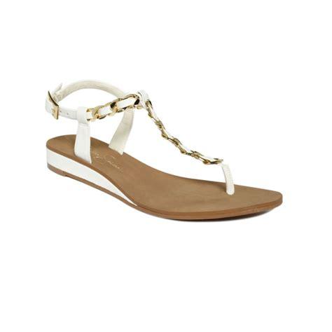 Sandal Joey 1 lyst joey flat sandals in white