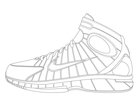 coloring pages nike go nuts with these nike hyperfuse in sneaker design