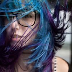 purple blue hair color blue and purple hair hair colors ideas