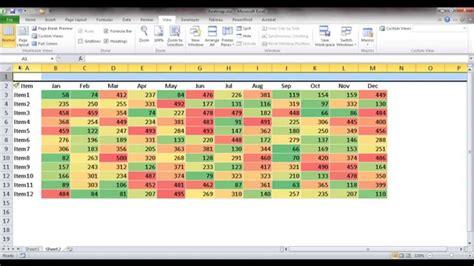 tutorial tableau indonesia create a heat map table doovi