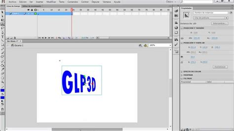 tutorial flash cs6 pdf como animar un texto en 3d con adobe flash cs6 corto