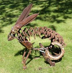yard art animals images