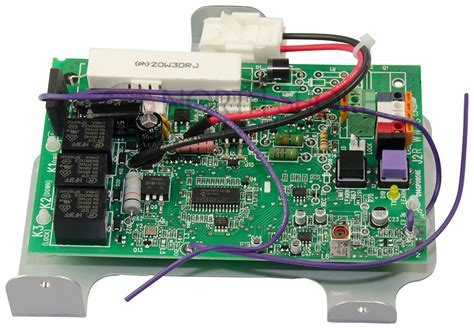 Garage Door Opener Logic Board Replacing The Logic Board On A