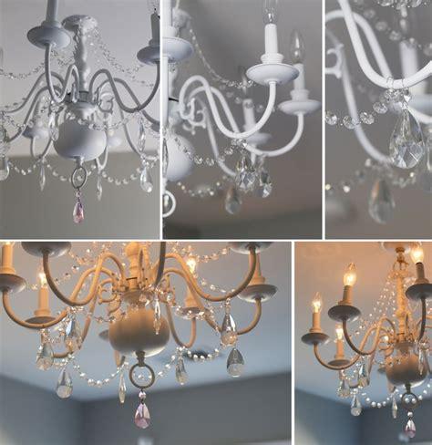chandeliers for little girl rooms 1000 ideas about spray painted chandelier on pinterest