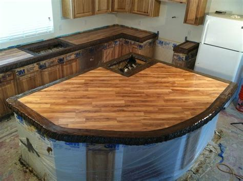 Camouflage Laminate Countertops by Best 25 Stained Concrete Countertops Ideas On