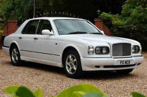 bentley arnage white bentley stunning white arnage 63000mls fsh car for sale