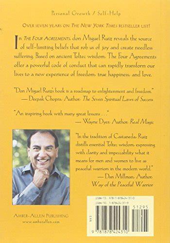 libro the four agreements practical libro the four agreements a practical guide to personal freedom a toltec wisdom book di don