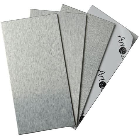 Self Stick Kitchen Backsplash 32 Pcs Peel And Stick Kitchen Backsplash Adhesive Metal