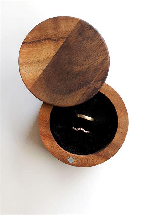 diy wood ring diy wood ring box almost makes
