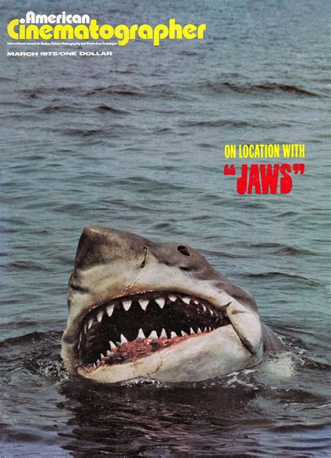 Kaos Keren Jaws 1975 Shark Classic ac gallery jaws the american society of cinematographers