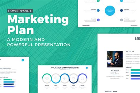 Marketing Plan Powerpoint Template By Slidepro On Creative Creative Marketing Ppt