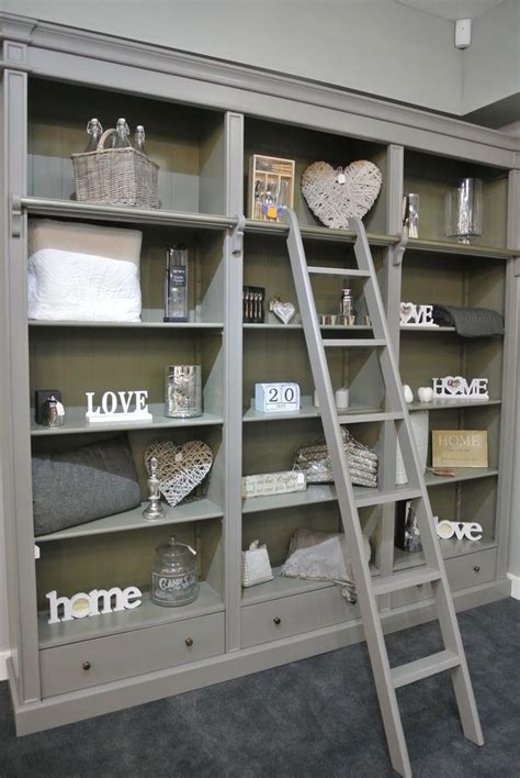best 25 bookcase with ladder ideas on library