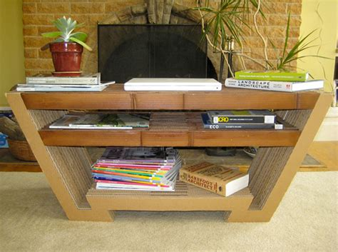 Cardboard Coffee Table Cardboard Coffee Table On Behance