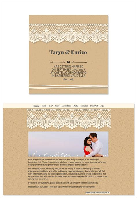 7 wedding email invitation templates free premium