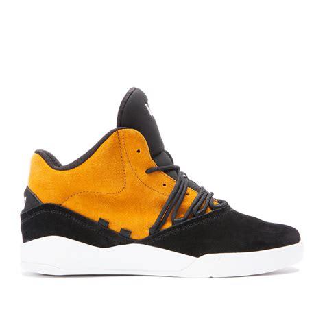 shoes womens supra tk society black yellow zipsupra hightopssupra terry kennedynewest collection p mens supra estaban high tops black yellow white shoes