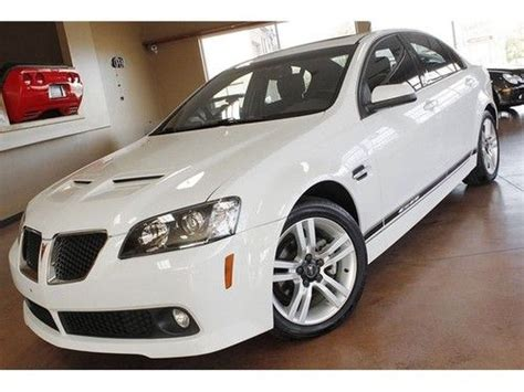 pontiac g8 gas mileage purchase used 2009 pontiac g8 automatic 4 door sedan in