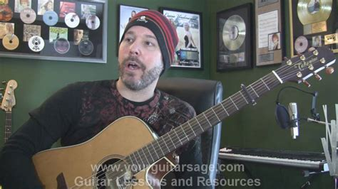 tutorial guitar the man who can t be moved the man who can t be moved by the script guitar lessons