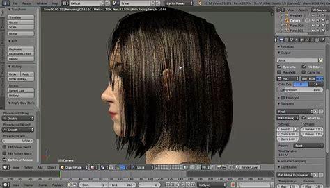 download hair blender polygon hair test in blender 4 cgmeetup community