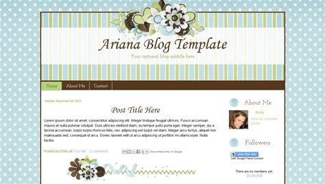 scrapbook templates for blogger ariana scrapbook style blogger template