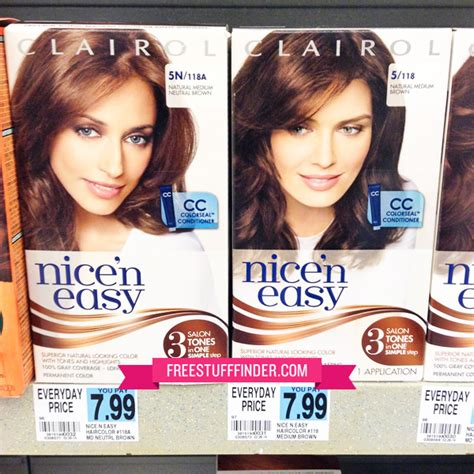 nice and easy hair color coupons 2014 3 99 reg 8 clairol nice n easy hair color at rite aid