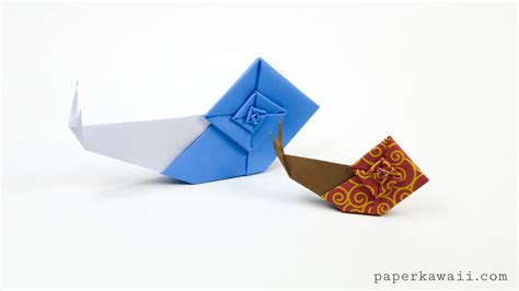 How To Make Origami Snail - origami snail tutorial overview of the origami