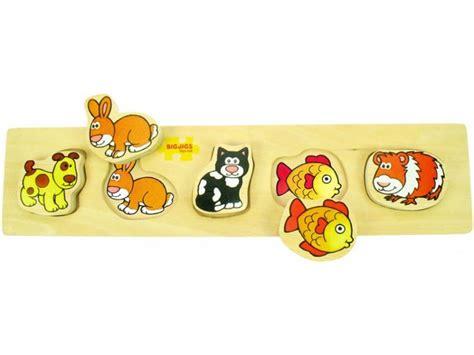Puzzle Chungky Pet chunky lift and match pets puzzle woodentoyshop co uk