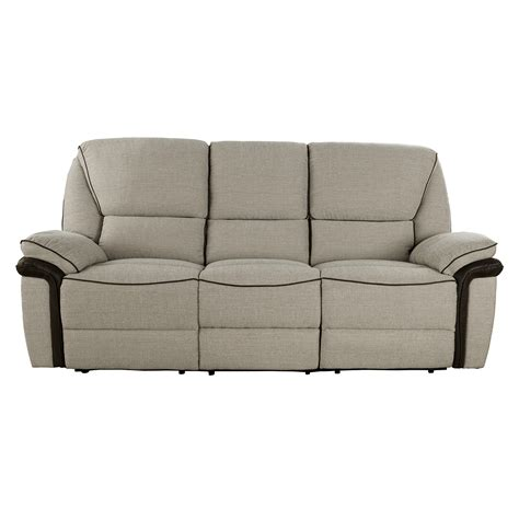 sofa preston preston manual reclining 3 seater sofa lisbon beige with