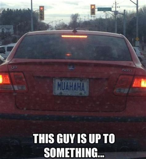 Hilarious Vanity Plates by License Plates Dump A Day