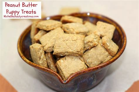 is peanut butter for puppies s tasty creations peanut butter puppy treats