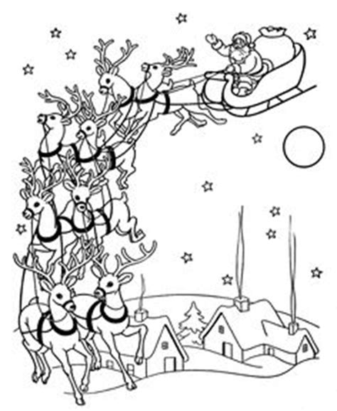vintage santa coloring page have myself a merry little christmas on pinterest