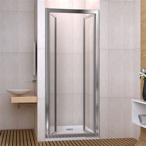 Double Walk In Pivot Shower Enclosure 6mm Glass Door Space Saving Shower Doors