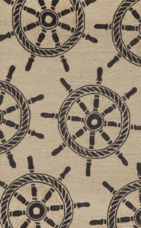 wheels rug frontporch 1456 48 ship wheel black rug wheels products and rugs