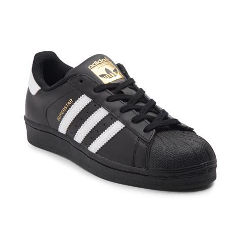 womens adidas superstar athletic shoe blackwhite