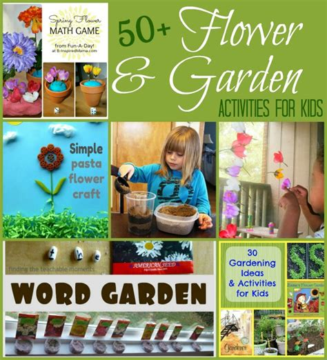 Garden Activities For Toddlers 50 Flower Garden Activities For Stress Free