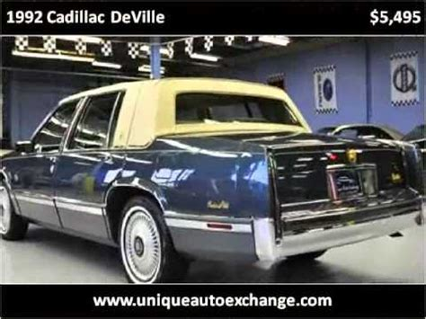 free auto repair manuals 1992 cadillac deville electronic toll collection 1992 cadillac deville problems online manuals and repair information