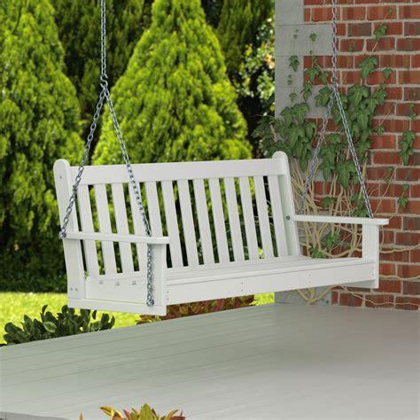 polywood outdoor furniture reviews polywood 174 vineyard porch swing reviews wayfair