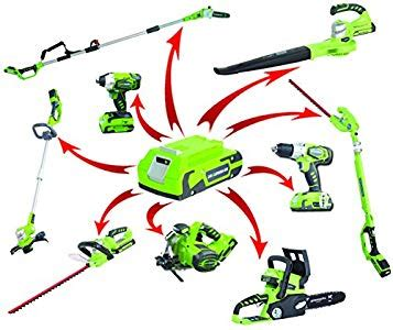 garden power tools reviews: works tools 2000107 a battery
