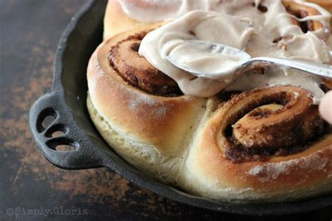 and easy cinnamon rolls simply gloria