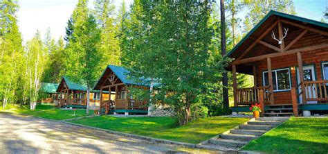 Raft Cabins by Glacier National Park Rafting Lodging Fishing Glacier