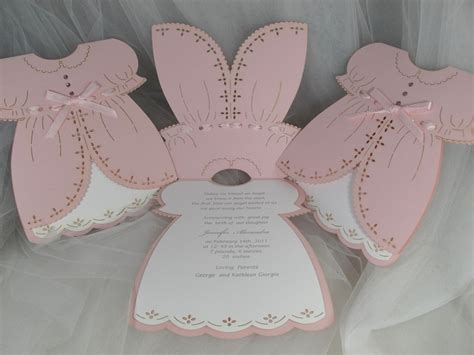 Christening Dress Card Template by Valentina Dress We Invite You To Fall In Baby