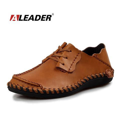 leather shoes casual 2015 summer fashion shoes