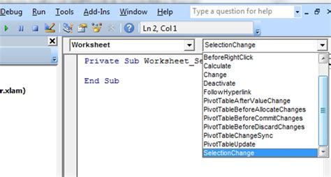 membuat hyperlink dengan macro excelheru membuat hyperlink dengan worksheet event