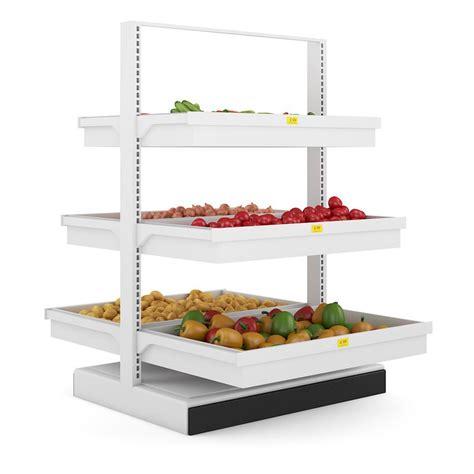 Shelf Vegetable by Vegetable Shelf 3d Model Max Obj Fbx C4d Mtl