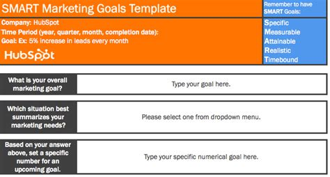 9 Free Microsoft Excel Templates To Make Marketing Easier Hubspot Template Setup