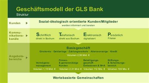 gls bank bilanzpressekonferenz der gls bank